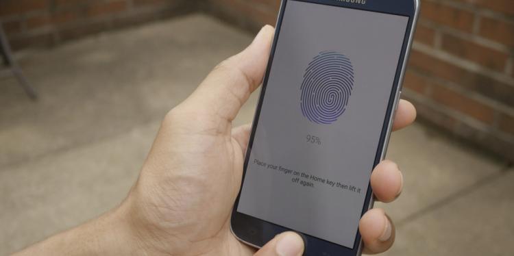 Samsung Galaxy S6'da parmak izi nasıl eklenir?